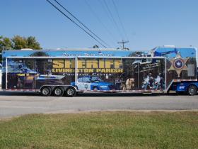 Large Trailer Graphic Wrap