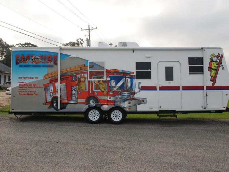 Fire Department Trailer Graphics