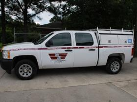 Large Pickup Fleet Decals